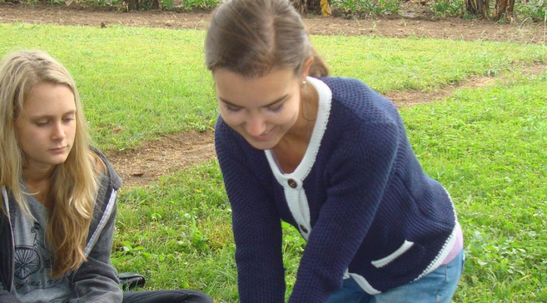 Elena L in Tanzania